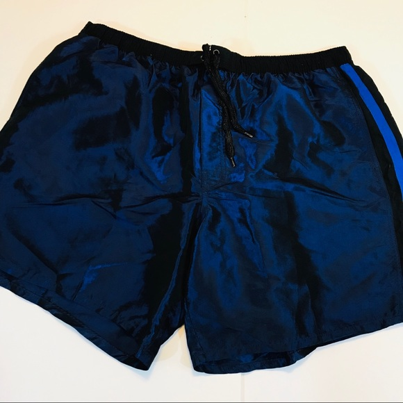 0d707c2f48fa Catalina Swim | Metallic Blue Suit Trunks 2xl Shorts | Poshmark